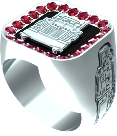 square truckers ring